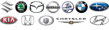 Car Brands we can source parts for.